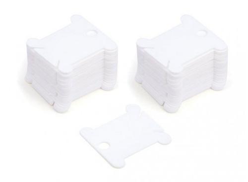 Аксессуары для рукоделия . пластиковые 50 шт. (белый) (002-Ш)