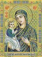 Набор для хобби и творчества Мозаика на подрамнике. Икона Божией матери Иерусалимская (070-ST-S)