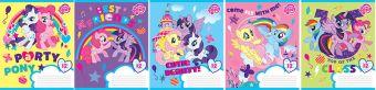 Тетр 12л скр А5 круп кл карт MP23/5-EAC полн УФ лак My Little Pony