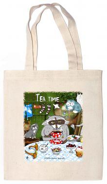Сумка. Tea time (35х39см, ручки 53см)