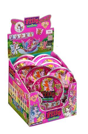 Dracco - Лошадка коллекционная Filly Бабочки с блестками обложка книги
