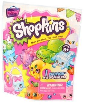 Shopkins - Фольгированный пакетик с 1 героем Moose (Shopkins)