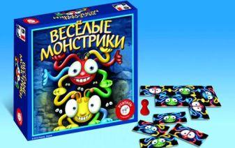 Piatnik - Веселые монстрики обложка книги