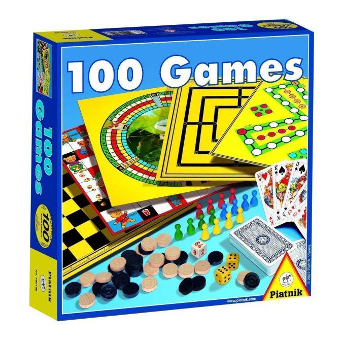 Piatnik - 100 Игр обложка книги