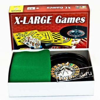 XL (200 игр+шахматы+рулетка) Piatnik