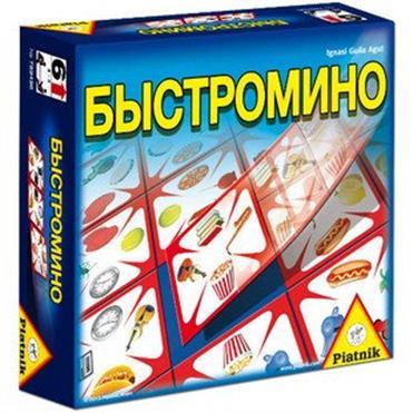 Piatnik - Быстромино обложка книги