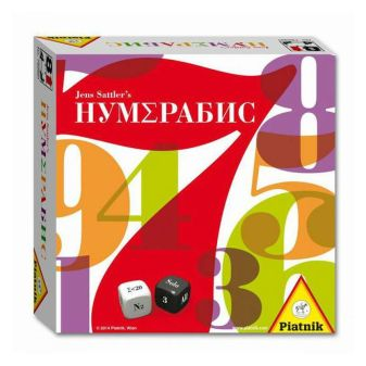 Piatnik - Настольная игра «Нум∑рабис» обложка книги