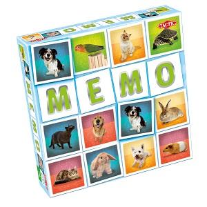 "Tactic Games - Мемо ""Животные 2"" обложка книги"