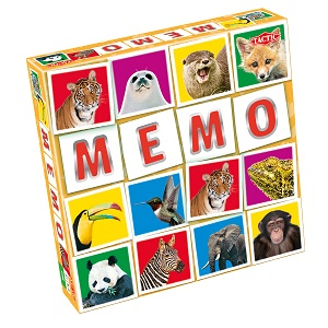"""Tactic Games - Мемо """"Дикие животные 2"""" обложка книги"""