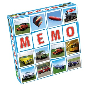 "Мемо ""Транспорт 2"" Tactic Games"