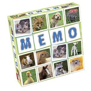 """Tactic Games - Мемо """"Зверята 2"""" обложка книги"""