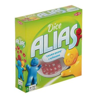 Alias с кубиками Tactic Games