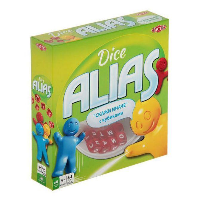 Tactic Games - Alias с кубиками обложка книги