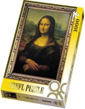 Пазл 1000 дет. - Мона Лиза