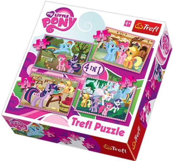 4 в 1 -Пони на прогулке Trefl