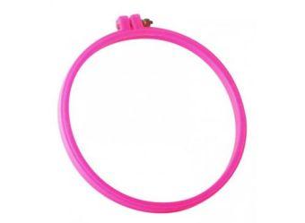 Аксессуары для рукоделия . пластиковые D 23 см (розовые) (RY4244-01)