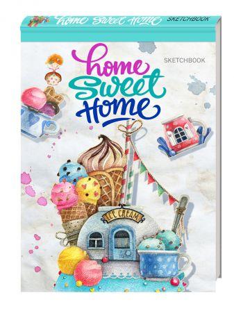 Блокнот. Home sweet home! Ice cream (А5 альбомный формат)