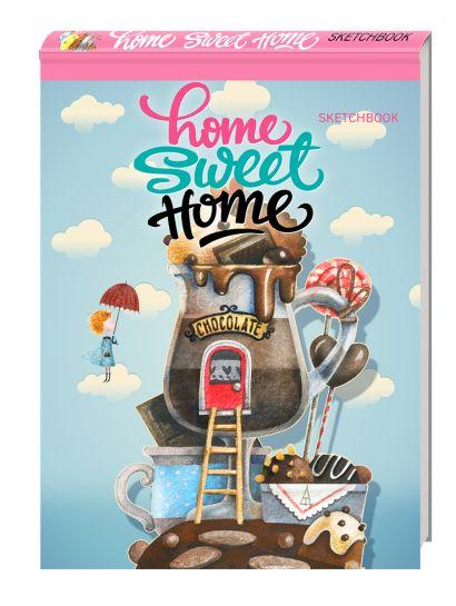 Блокнот. Home sweet home! Chocolate (А5 альбомный формат) - фото 1
