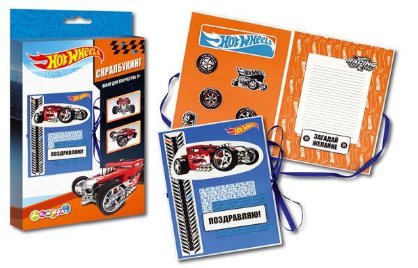 HWCA-UA1-SCB1-BOX   Набор для детского творчества. Скрапбукинг., Hot Wheels
