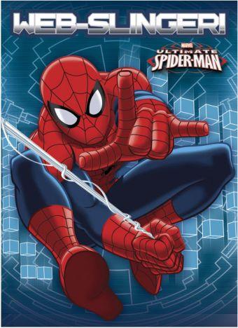 Записная книжка 32л скр А6 кл SM294-EAC твин УФ Spider-man