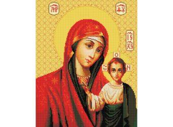 Набор для хобби и творчества Мозаика на подрамнике. Икона Божией матери Казанская (069-ST-S)