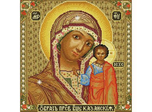 Мозаика на подрамнике. Икона Божией матери Казанская (071-ST-S)