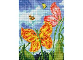 Мозаика на подрамнике. Бабочки (180-ST-S)