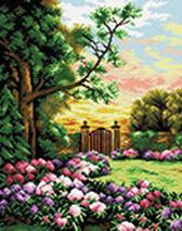 Мозаика на подрамнике. Сад цветов (190-ST-S)