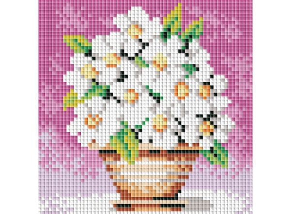 Набор для хобби и творчества Мозаичные картины. Белоснежные цветы (042-ST-PS)
