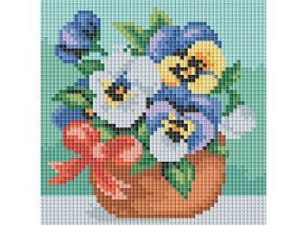 Мозаичные картины. Веселые цветочки (049-ST-PS)