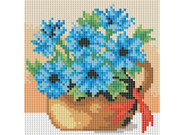 Набор для хобби и творчества Мозаичные картины. Полевые васильки (053-ST-PS)