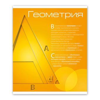 Тетрадь 48 л. кл. НОВАЯ КЛАССИКА Геометрия мел. карт. спл. Уф-лак