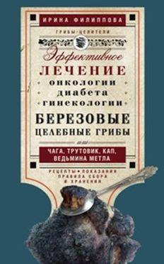 Филиппова И.А. - Березовые целебные грибы. эффективное лечение онкологии, диабета, гинекологии... обложка книги