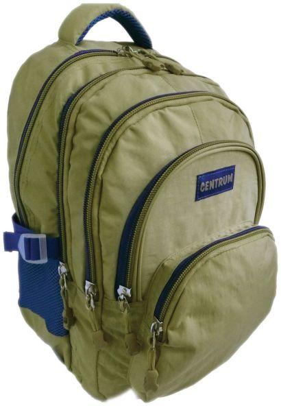 Рюкзак подростковый, цвет- серый. Размер 44*33*28 см, 3 отделения, 2 больших наружних кармана, боковые карманы из сетки, уплотненная спинка, мягкие ре - фото 1