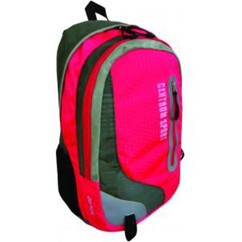 Рюкзак спортивный молодежный, цвет- красный. Размер 49*31*21 см, 2 отделения, уплотненная спинка, в наружном кармане органайзер для телефона и мелочей