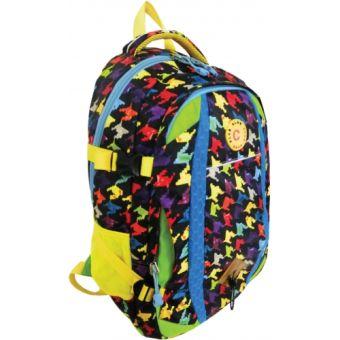 Рюкзак спортивный молодежный. Размер 47*34*19 см, 2 отделения, боковые карманы из сетки, уплотненная спинка, внутри отделений карманы для телефона и м