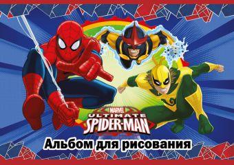 Альб д.рис 20л скр А4 SM381-EAC твин УФ, тисн фольг Spider-man Classic