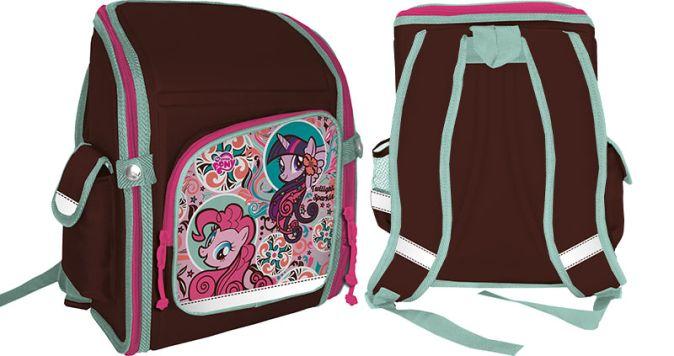 Рюкзак. Профилактический. Размер: 34,5 х 26 х 13 см. Упак: 3.My Little Pony