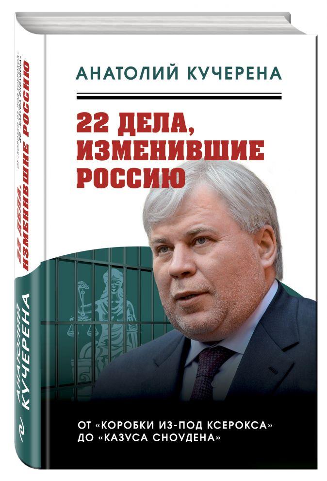 Анатолий Кучерена - 22 дела, изменившие Россию. Новейшая история глазами адвоката обложка книги