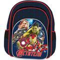 Рюкзак ортопед 2х секц. Marvel