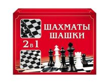 ШАХМАТЫ, ШАШКИ (мини-коробка) (Арт. ИН-1611)