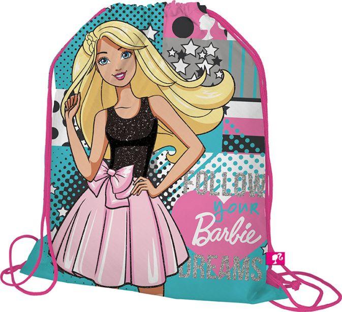 BRDB-MT1-883 Мешок для обуви. Размер: 43 х 34 х 1 см. Упак: 12/24/96.Barbie