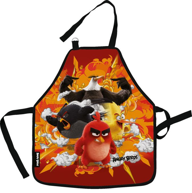 ABDB-MT1-029M Фартук, предназначенный для творческих занятий. Размер: 51 х 44 см. Размер упаковки: 27 х 16,5 х 0,5 см. Упак: 12/36/72. Angry Birds Mov