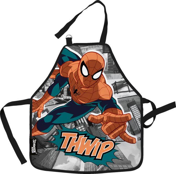 SMDB-RT2-029M Фартук, предназначенный для творческих занятий. Размер: 51 х 44 см. Размер упаковки: 27 х 16,5 х 0,5 см. Упак: 12/36/72.Spider-man Class