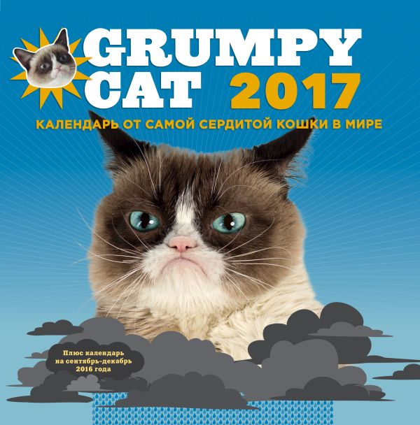 Grumpy Cat 2017. Календарь от самой сердитой кошки в мире