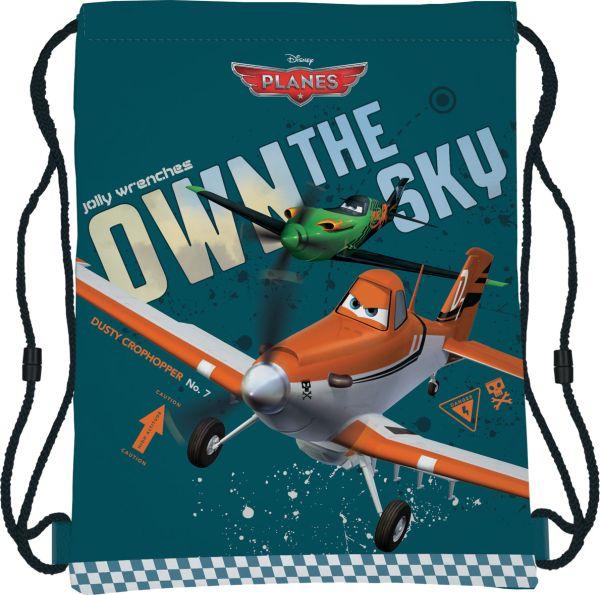 PLAB-MT1-883 Сумка-рюкзак для обуви. Размер43 х 34 см, упак. 12/24/96шт. Planes