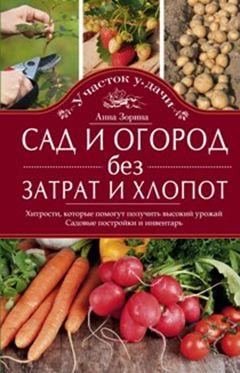 Зорина А - Сад и огород без затрат и хлопот обложка книги