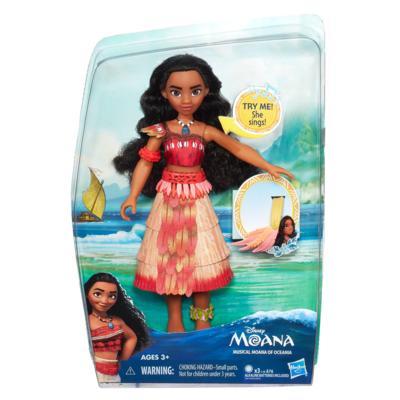 DISNEY MOANA Кукла Моана с музыкой (B8296) DISNEY MOANA