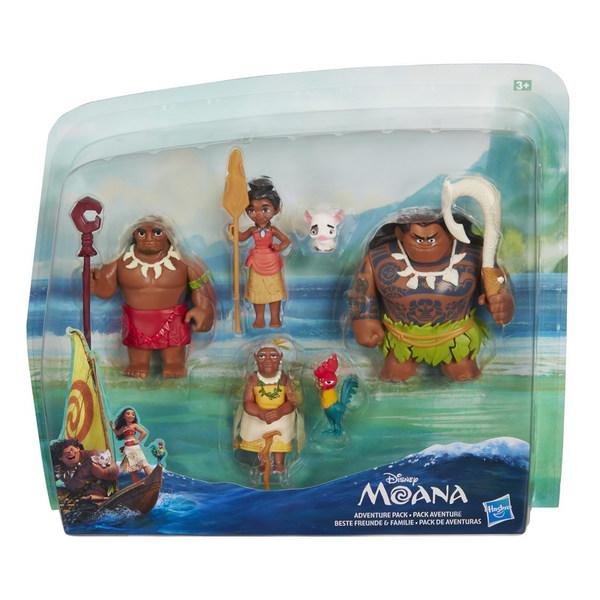 DISNEY MOANA Маленькие куклы Моана - несколько кукол в наборе (B8305) DISNEY MOANA