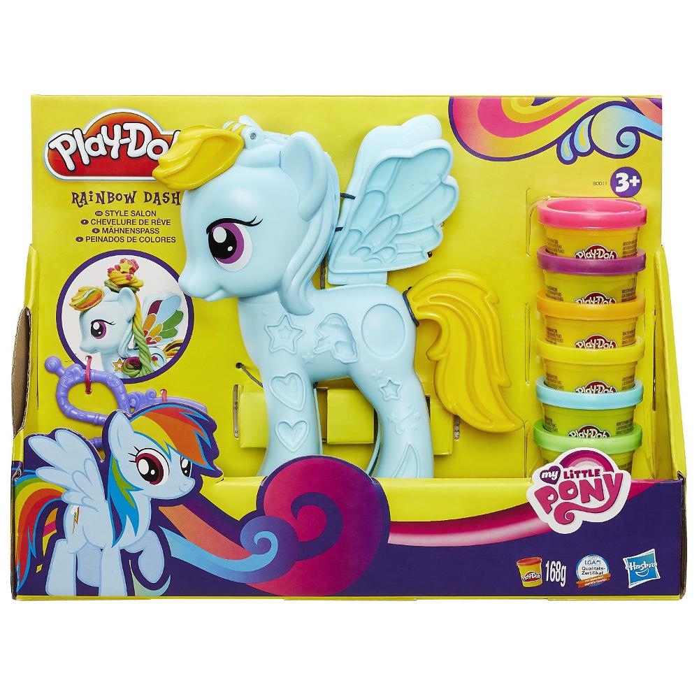 Play-Doh Игровой набор Стильный салон Рэйнбоу Дэш (B0011)